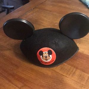 Adult size traditional Mickey Mouse ears.